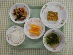 ☆チーズと青菜のオムレツ☆